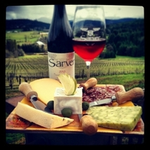 Wine And Cheese, A Perfect Harmony